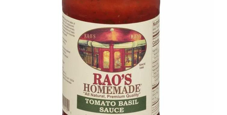 Rao's Homemade Tomato Basil Sauce - 24 oz - 5g Net Carbs