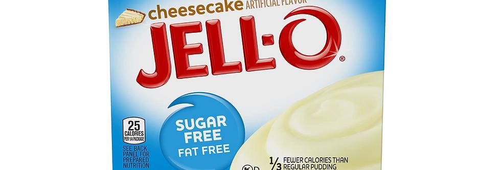 Jell-O Sugar Free Instant Cheesecake Pudding - 1 oz - 5g Net Carb