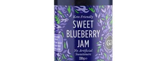 Good Good Sweet Blueberry Jam - 12 oz - 1g Net Carb