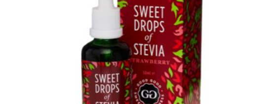 Good Good Strawberry Sweet Drops of Stevia  - 1.69 oz - 0 Net Carbs
