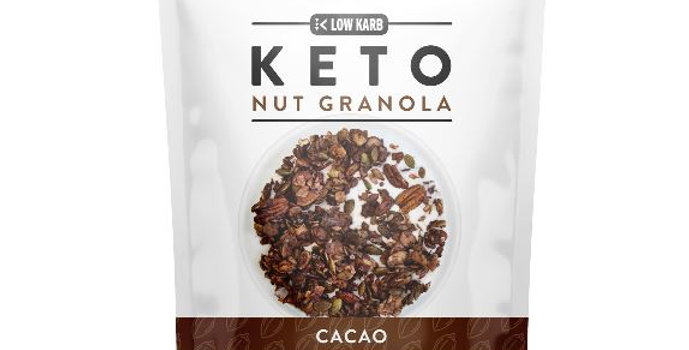 Low Karb Cacao Keto Nut Granola - 11 oz - 3g Net Carbs