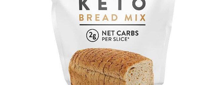 Low Karb Keto Bread Mix - 13.3 oz - 2g Net Carbs