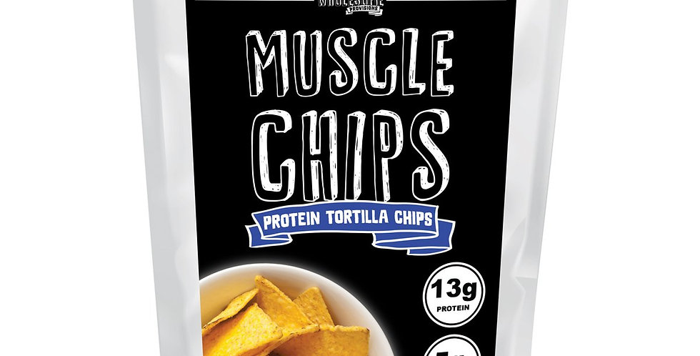 Muscle Chips Protein Tortilla Chips by Wholesome Provisions - 6oz - 5g Net Carbs