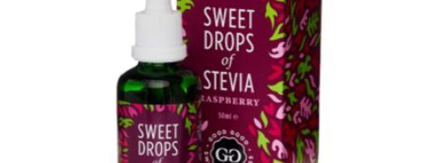 Good Good Raspberry Sweet Drops of Stevia  - 1.69 oz - 0 Net Carbs