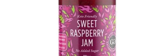 Good Good Sweet Raspberry Jam - 12 oz - 0 Net Carbs