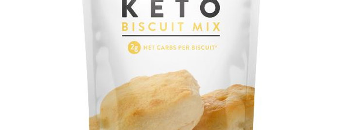 Low Karb Keto Butter Biscuit Mix - 11.3 oz - 2 Net Carbs