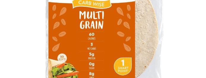 Tumaro's Carb Wise Multi Grain Wraps- 11.2 oz - 3 Net Carbs