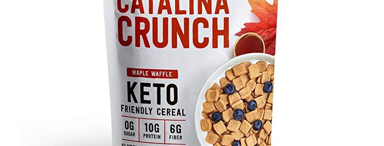 Catalina Crunch Maple Waffle Keto Cereal - 9 oz - 5g Net Carbs