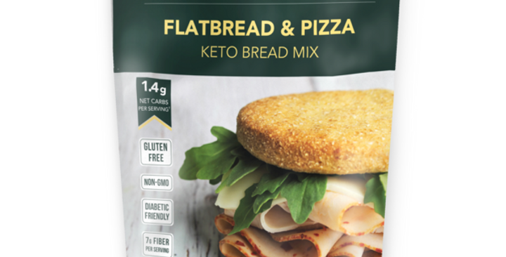 Keto and Co Flatbread & Pizza Bread Mix - 6.7 oz - 1.4g Net Carbs