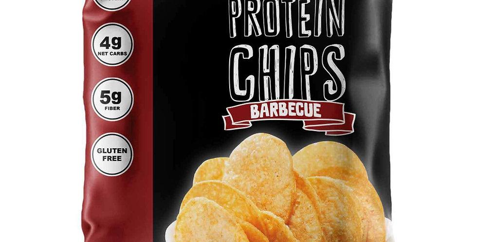 Barbecue Protein Chips by Wholesome Provisions - 1.3 oz - 4g Net Carbs