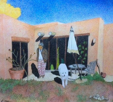 Artist In Abiquiú