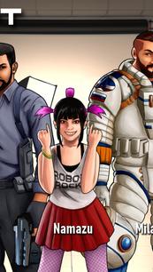 Solar Rift Cast of Characters