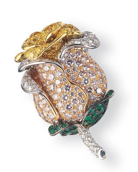 carvin french, jewelry making, jewelry manufacturing, jeweler new york, diamond brooch