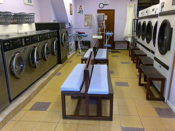 Eash Wash Launderette inside our business