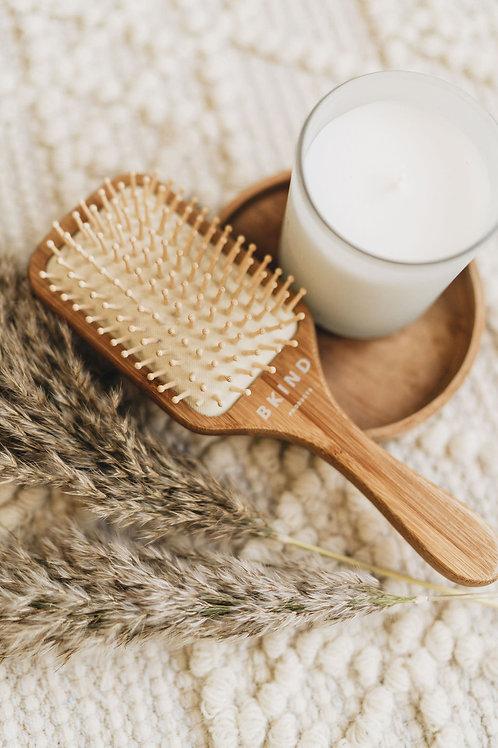 Brosse à cheveux en bambou