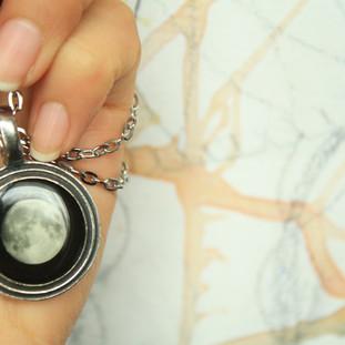 Birth stone necklace