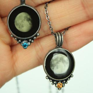 Birth moon jewels
