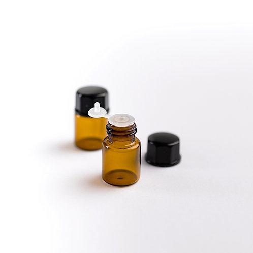 Bouteilles d'échantillons 1 ml et 2 ml