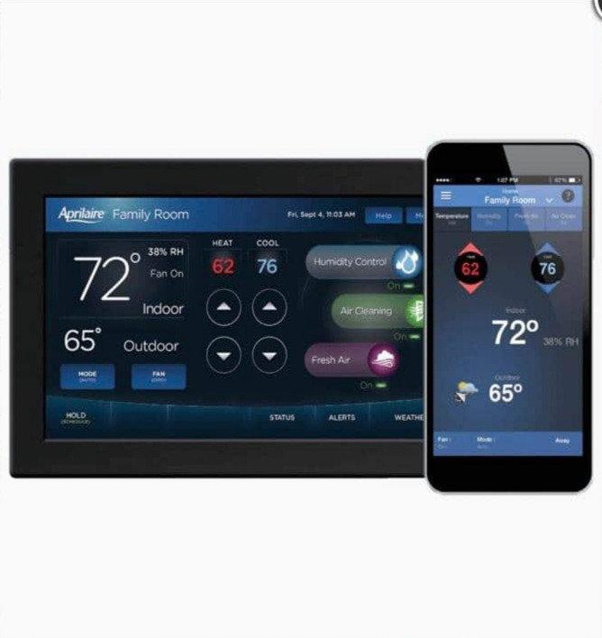 Voice & Remote Smart Home Temperature