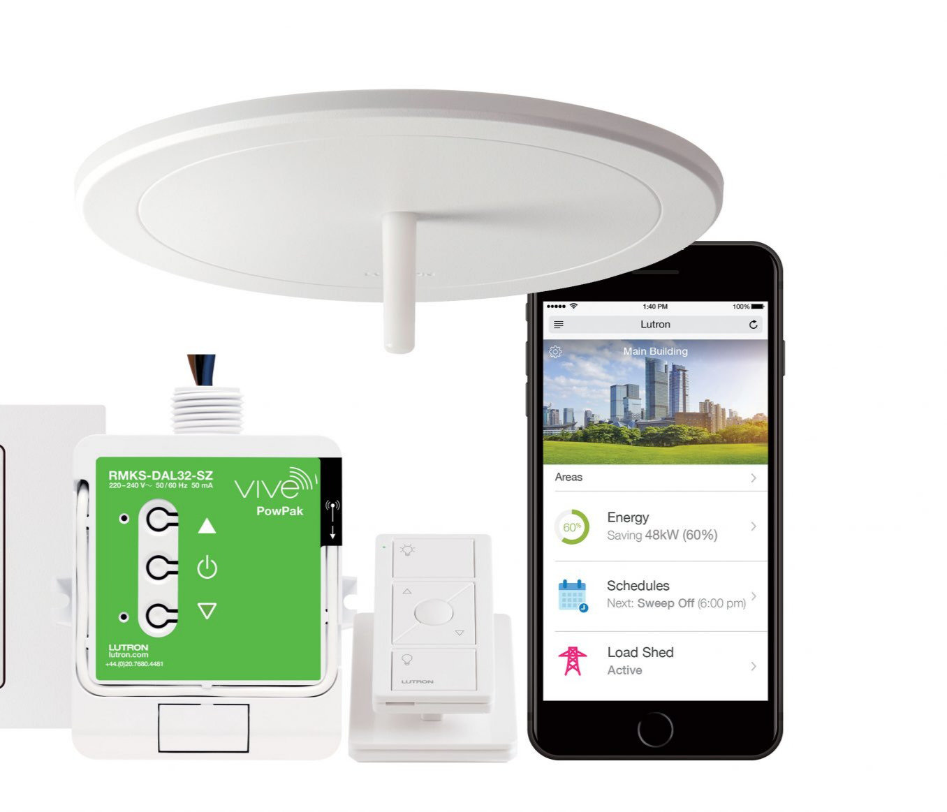 Voice & Remote Lighting Control System