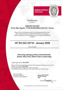 Certificat-Groupe-Guinot-ISO-22716-angla