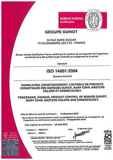 findet unter pharmazeutischen Standards im Headquarter in Paris statt. Die Laboratorien von GUINOT.