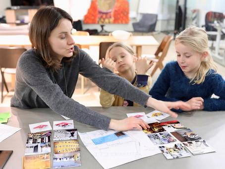 Millainen olisi työympäristö, jos lapset saisivat sen suunnitella?