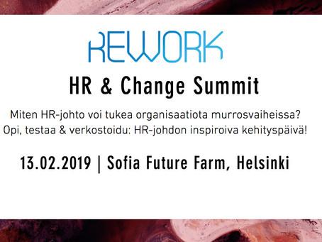 REWORK-HR & Change Summit