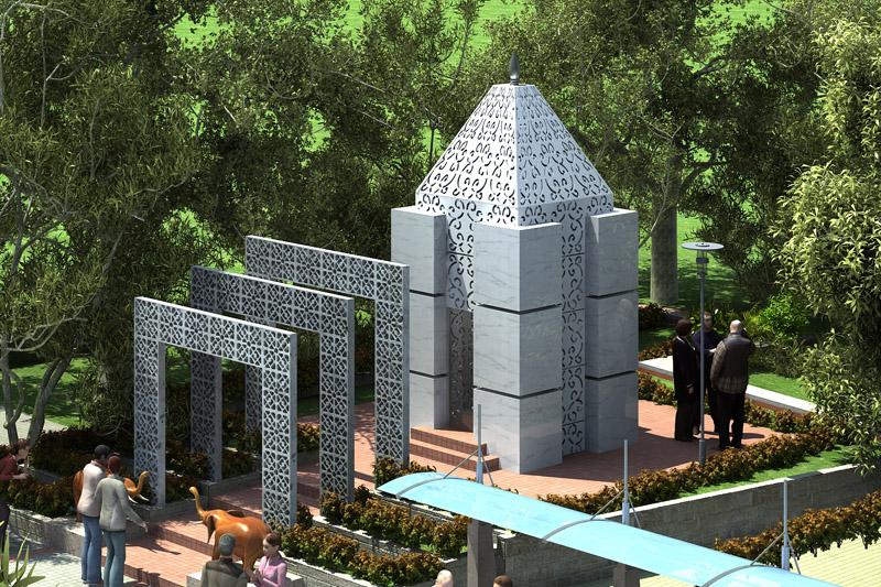 Rustomjee Temple