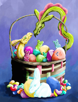 Easter Dragons