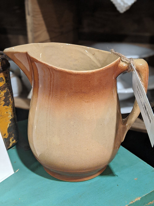SALE**Vintage clay water/vase pitcher