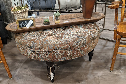 Upholstered ottoman ( large )