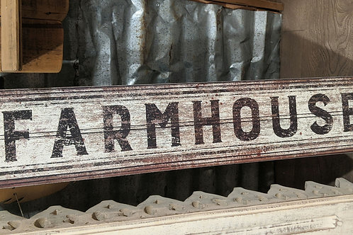 Cute farmhouse sign ( wooden )