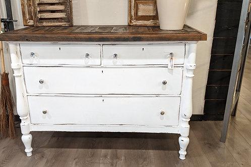 Vintage upcycled dresser