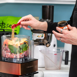 Preparing Homemade Dog Food