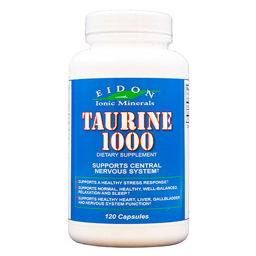 Eidon Taurine 1000 - 120 capsules