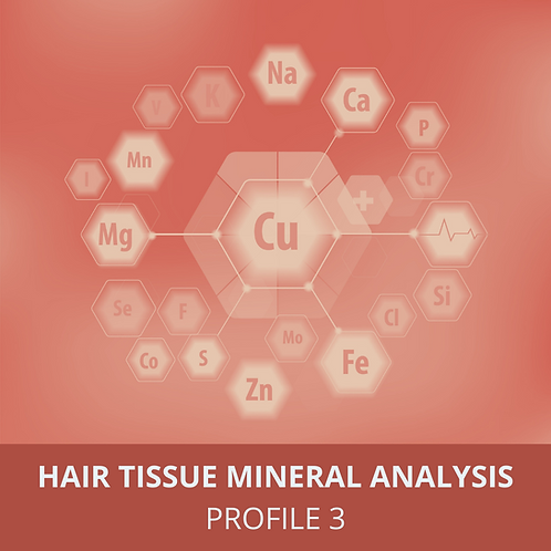 Hair Tissue Mineral Analysis Profile 3 - Retest