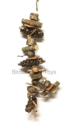 Birdtalk Bird Toys Lets Go Natural - Hangin There