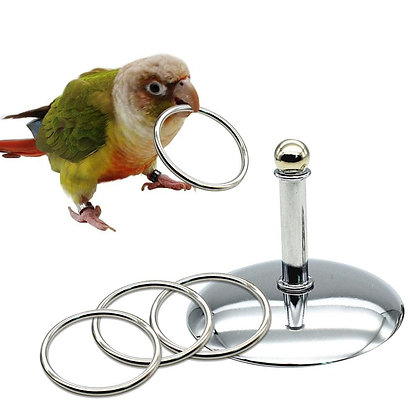 Birdtalk Bird Toys - Training Rings
