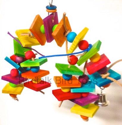 Birdtalk Bird Toys -Rainbow Arch