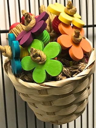 Birdtalk Bird Toys - Flower Pot