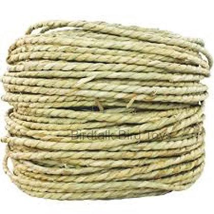 Birdtalk Bird Toys - 5 Meters of Seagrass Rope