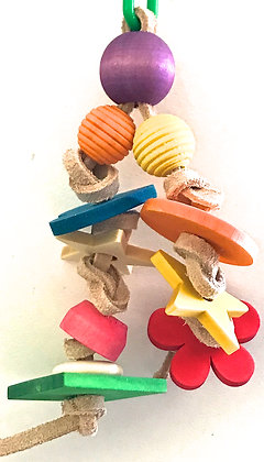 Birdtalk Bird Toys - Hanging Shapes