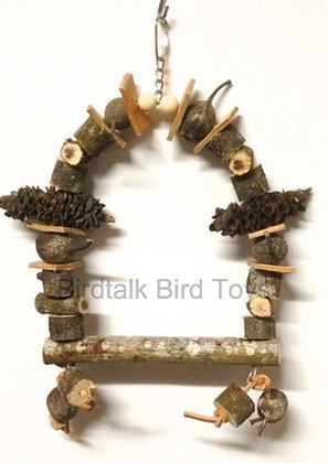 Birdtalk Bird Toys Lets Go Natural - Swing