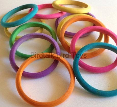Birdtalk Bird Toys - 2 Toss Rings