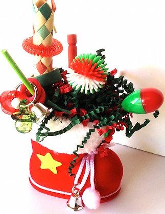 Birdtalk Bird Toys -   Santas Christmas Boot