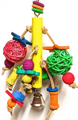 Birdtalk Bird Toys - Hanging Shapes