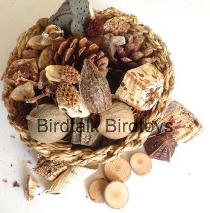 Birdtalk Bird Toys - Basket of Bush Tucker