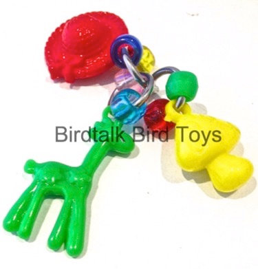Birdtalk Bird Toys - Giraffe Foot Fiddler