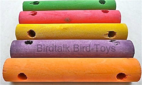 Birdtalk Bird Toys - 1 Wooden Swing Bar